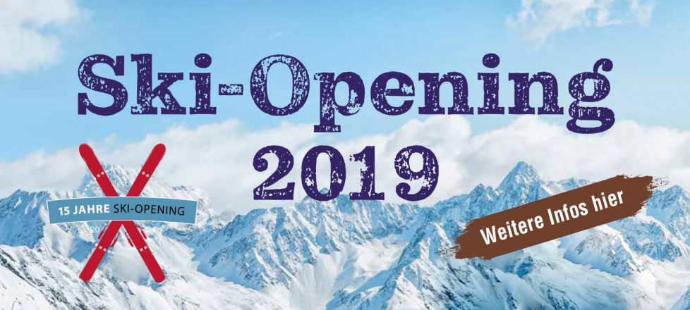 Einladung zum Skiopening 2019