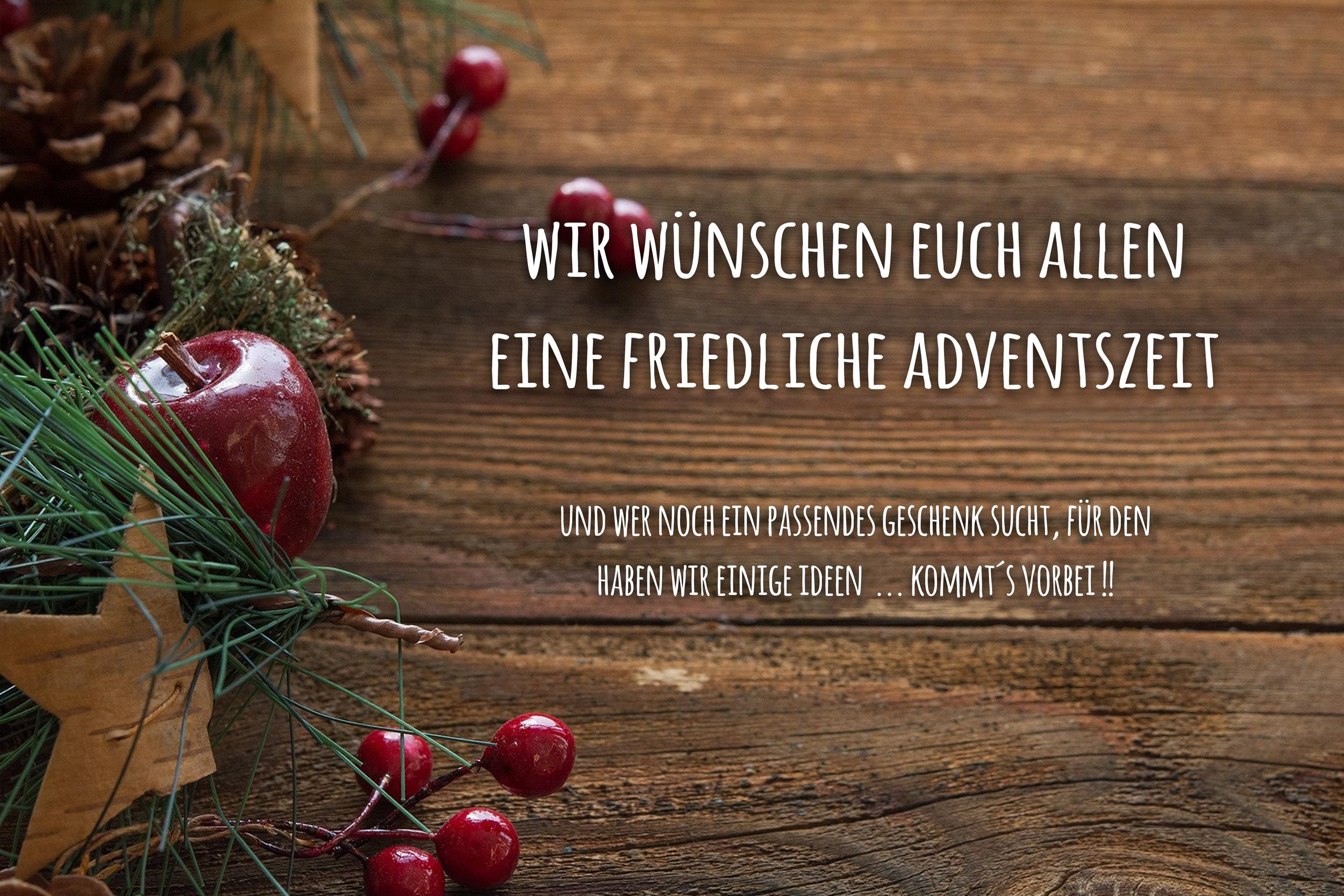 Oh du schöne Weihnachtsszeit …
