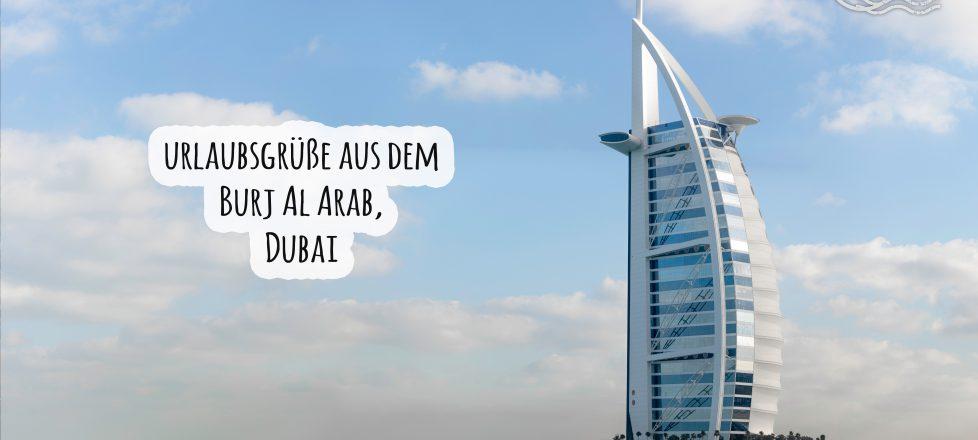 Urlaubsgüße aus Dubai