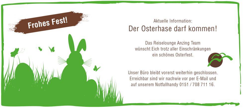 Wir wünschen frohe Ostertage!