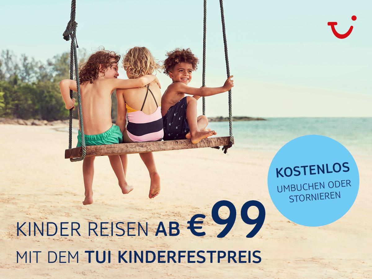 Sommer 2021 flexibel mit den beliebten Kinderfestpreisen buchen