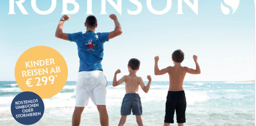 Der beliebte Kinderfestpreis bei Robinson